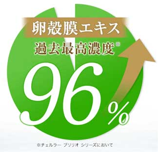 卵殻膜エキス濃度96%